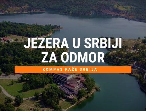 Najlepša jezera za odmor u Srbiji leti