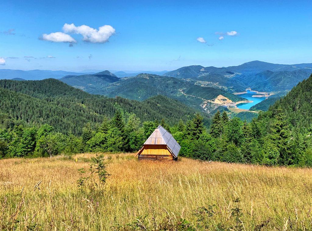 Planina Tara pogled na Zaovine
