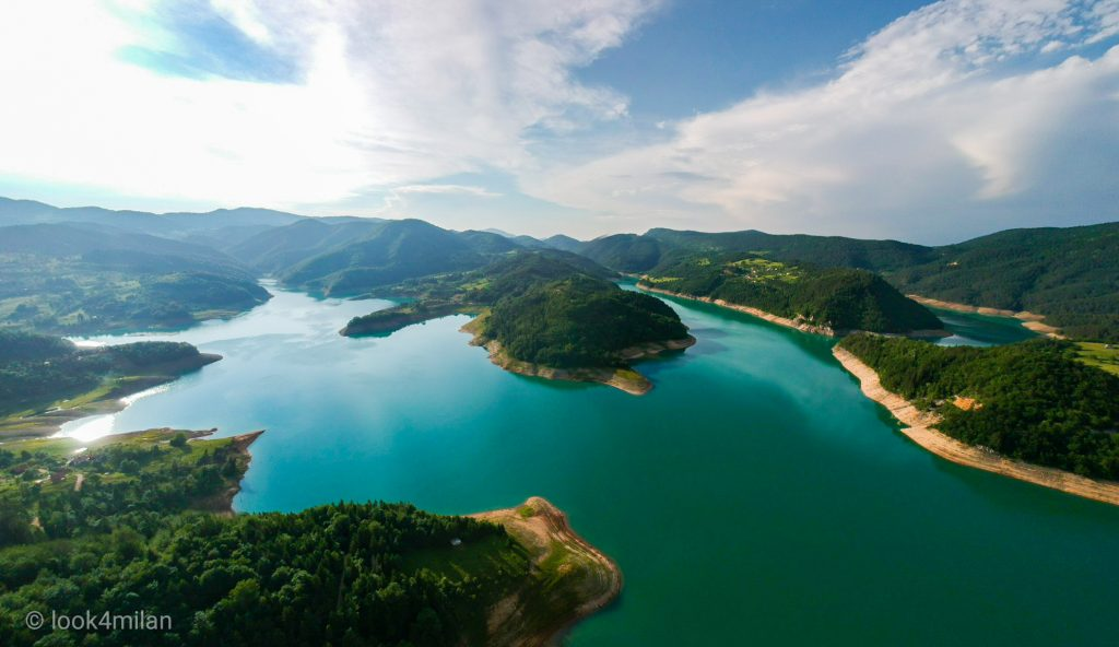 Jezera u Srbiji - Zaovinsko jezero