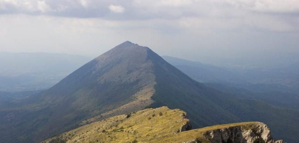 Suva planina vrh Trem