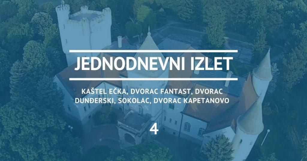 Izlet najlepši dvorci Vojvodine otvoreni za posetioce