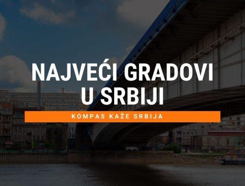 Spisak najveći gradovi u Srbiji po broju stanovnika