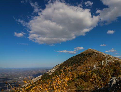 Planina Rtanj pogled na vrh Šiljak
