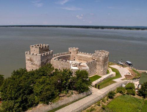 Ramska tvrđava slika iz vazduha