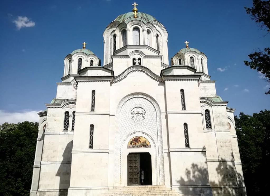 Crkva Oplenac Topola slika