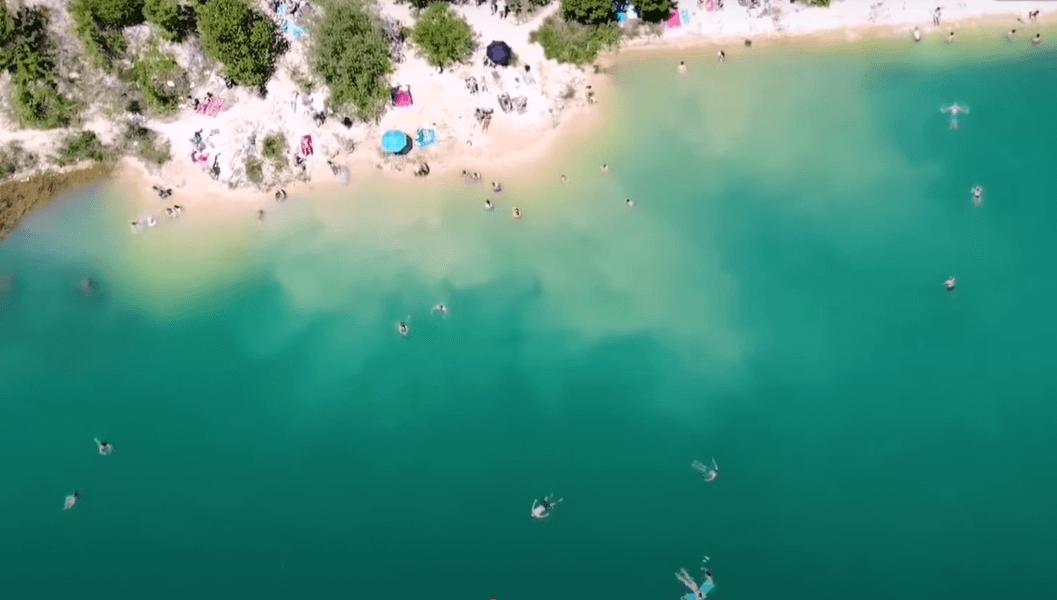 besenovo jezero slike